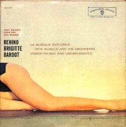 246552 PETE RUGOLO / Behind Brigitte Bardot: Cool Sounds From Her Hot Scenes(LP)