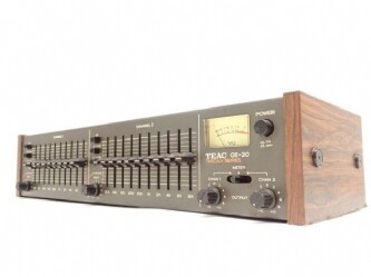 TEAC ティアック アナロググラフィックイコライザー GE-20 ∩ 62996-1