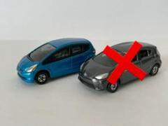 """Thumbnail of """"TOMICA トミカ フィット アクア ミニカー 2台セット"""""""