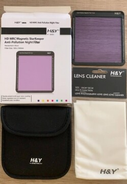 H&Y ナイトフィルター(光害カット)HD MRC Magnetic StarKeeper Anti-Pollution Night Filter