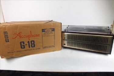 ◆ Accuphase アキュフェーズ G-18 グラフィックイコライザー 音出し確認済み 中古 現状品 211009B2092