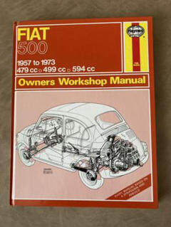 """Thumbnail of """"FIAT 500 Owners Workshop Manual"""""""