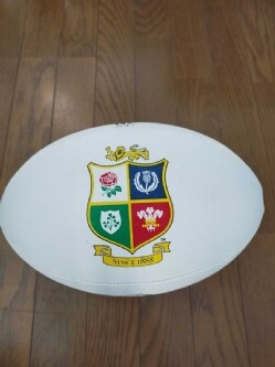 RUGBY BALL Supporter ball of BRITISH LIONS tour to NZ 2017 激安 A18