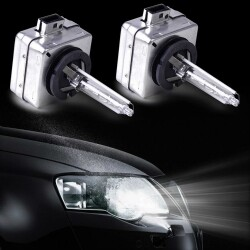 D3S/D1S HID-3400LM【交換用キャンセラー内蔵 ボルボ BMW/アウディ BENZ A3/A4 Q7,A6 A5 6000k ヘットライト 車検対応 1年保
