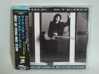 〇m240 帯付き CD マイク・スターン オッズ・オア・イーヴンス AMCY-299 MIKE STERN ODDS OR EVENS