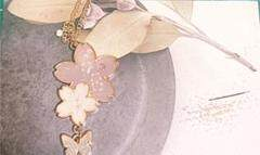 """Thumbnail of """"桜のネックレス①"""""""