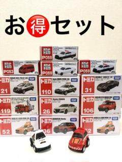 """Thumbnail of """"トミカまとめ売り ポケットトミカセット タカラトミー ミニカー パトカー 消防車"""""""