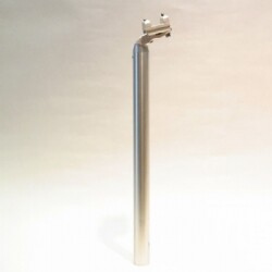 PAUL Tall and Handsome Seatpost 27.2mm SILVER