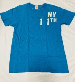 D352*USED☆デニム&ダンガリー 半袖Tシャツ170/03  1枚★FITH.Unita/Go to hollywood/GROOVY COLORS
