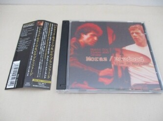 MORAZ/BRUFORD Music For Piano And Drums Live In Maryland '12 輸入盤国内仕様 Patrick Moraz Bill Bruford '83北米公演 2枚組 全12曲