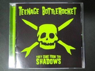 TEENAGE BOTTLEROCKET/they came from the shadows CD POP PUNK homeless wonders lillingtons sack screeching weasel queers riverdales