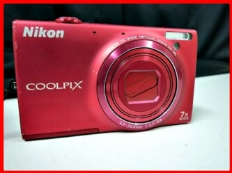 ▼Nikon/ニコン デジカメ COOLPIX S6100 ジャンク
