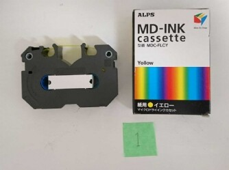 MD-INK MDC-FLCY ALPS マイクロドライインクカセット