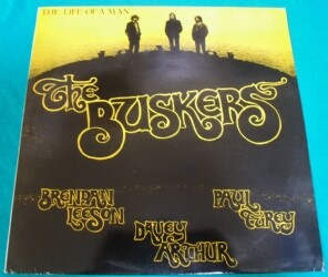LP●The Buskers / Life Of A Man UK盤RUB007